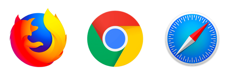 ウェブブラウザ例