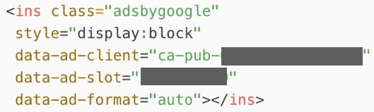 HTMLにIDが表示される様子